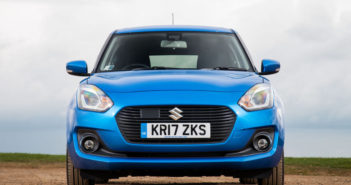 Front of Suzuki Swift
