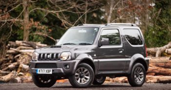 Front of Suzuki Jimny