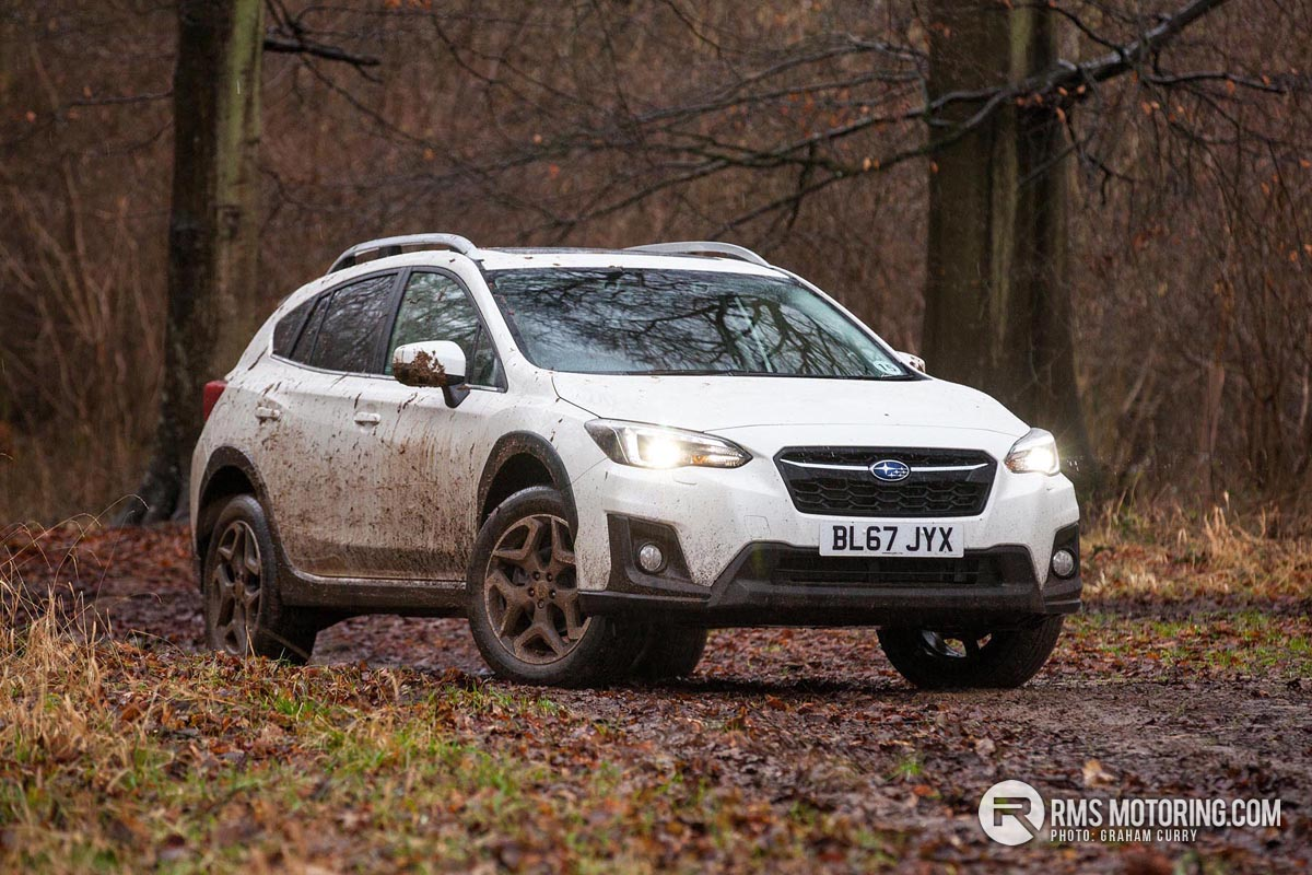 Front of Subaru XV