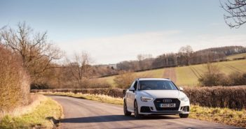 Front of Audi RS3