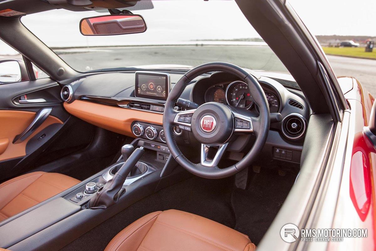 Fiat 124 Front Seats