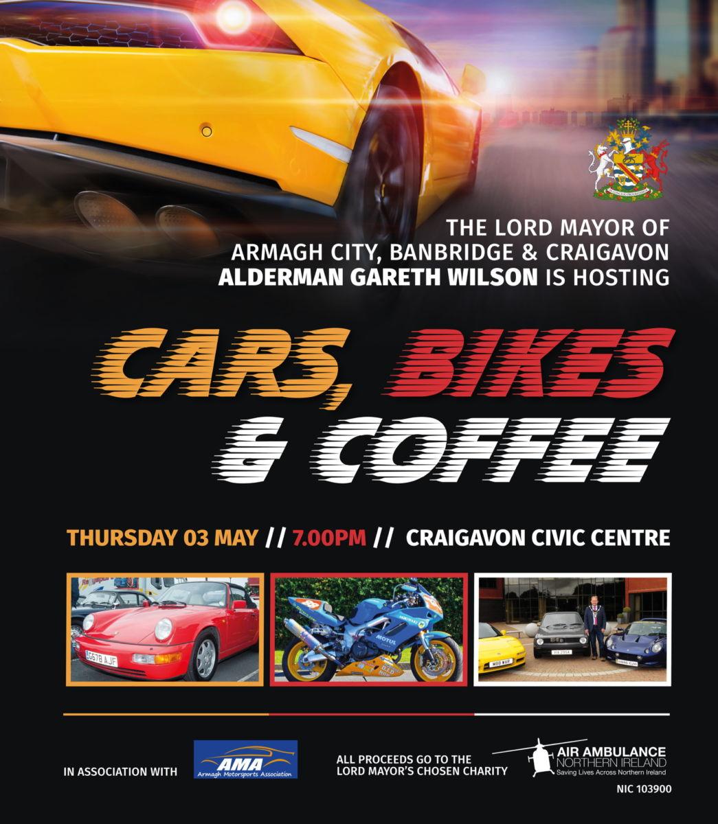 Cars, Bikes and Coffee, Craigavon