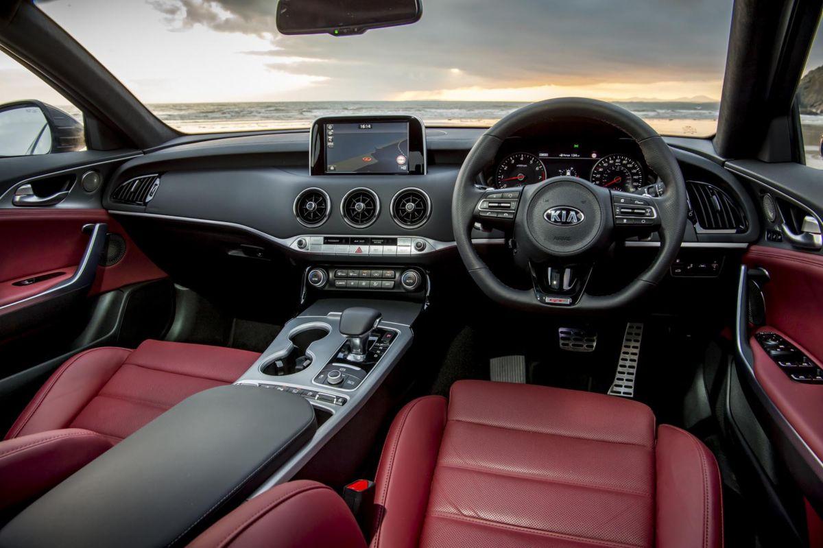 Kia Stinger Front Seats