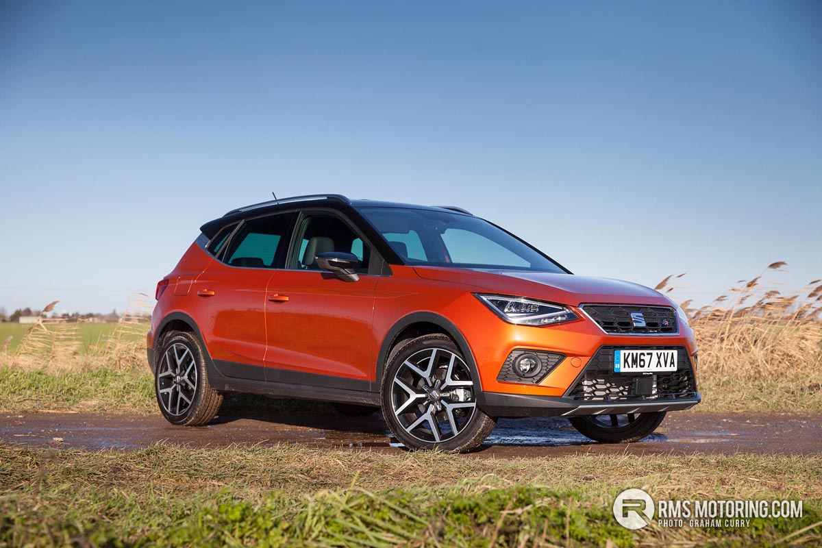 seat arona fr sport baby suv with street cred rms motoring. Black Bedroom Furniture Sets. Home Design Ideas