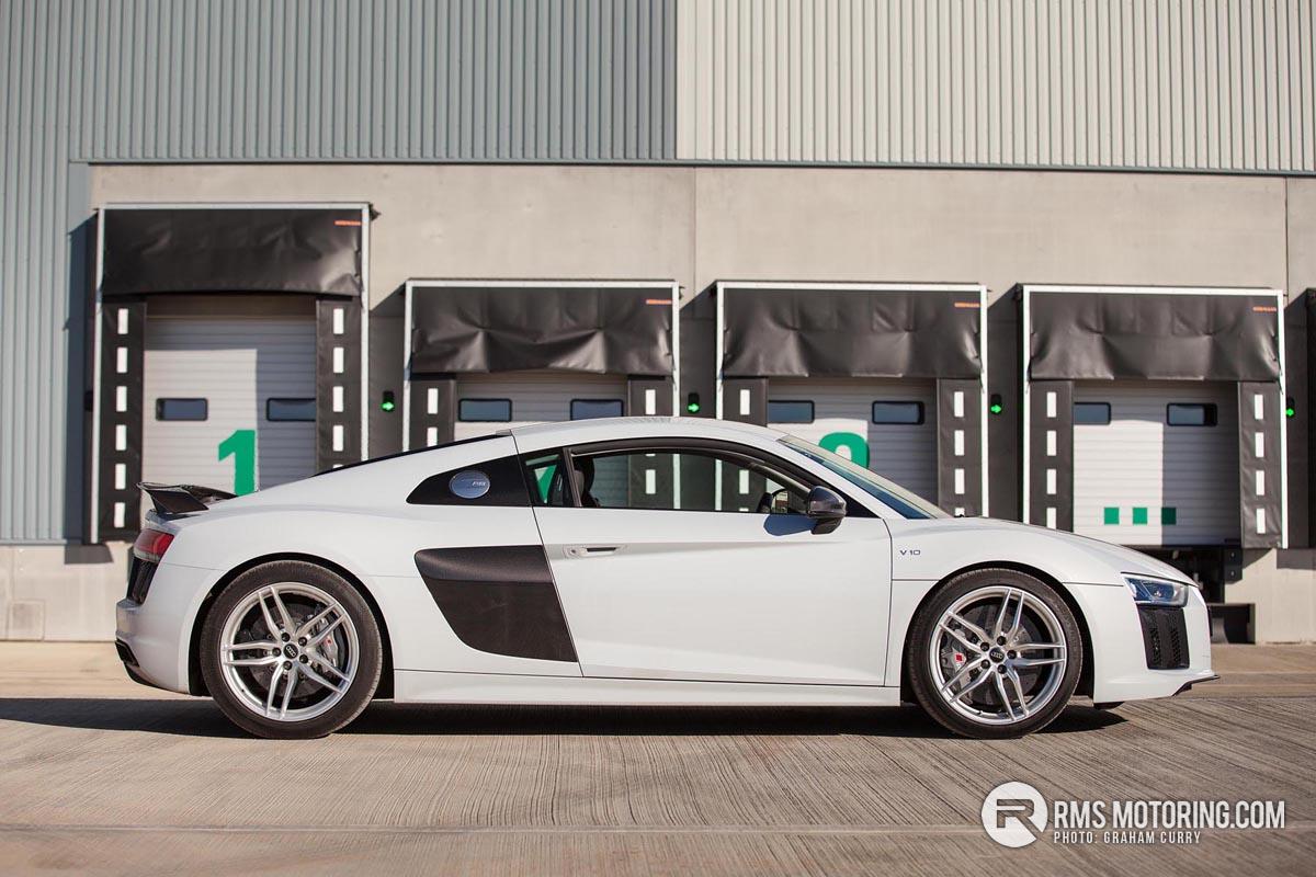 Side of Audi R8
