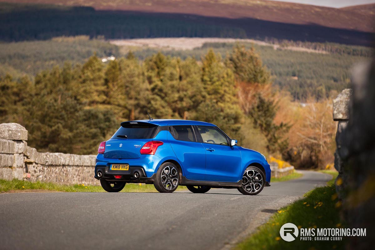 Rear of Suzuki Swift Sport