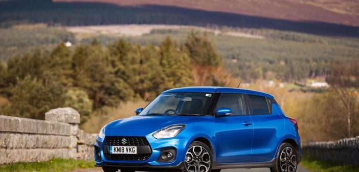 New Suzuki Swift Sport Driven