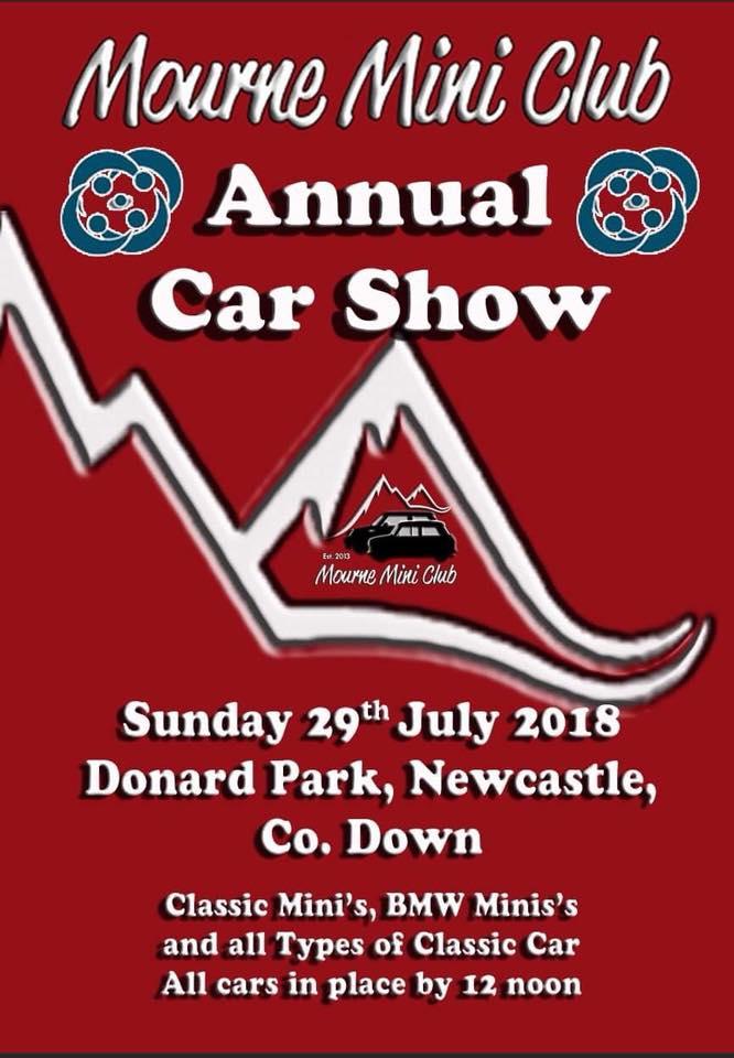 Mourne Mini Club Annual Car Show