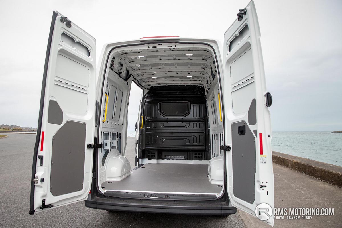 Rear of VW Crafter 2