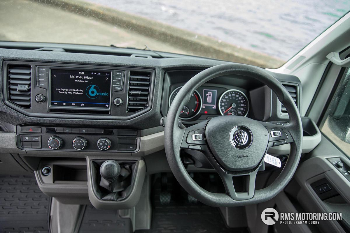 VW Crafter Interior