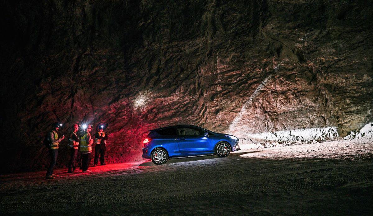 Ford Fiesta ST secret salt mine advert - is this deepest Carrick?