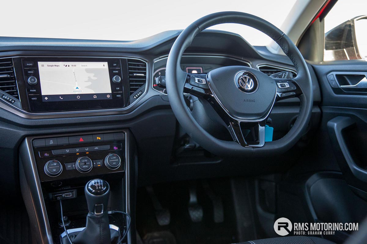 Volkswagen T-Roc Steering Wheel