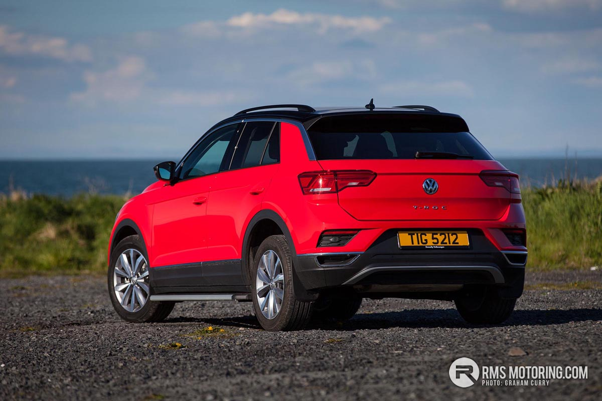 Rear of Volkswagen T-Roc