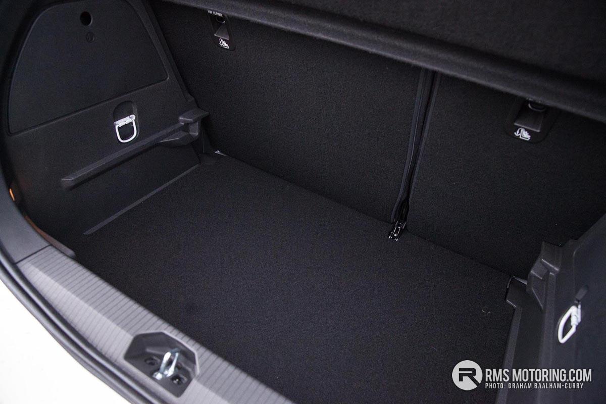 Vauxhall Corsa GSi Boot
