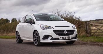 Front of Vauxhall Corsa GSi