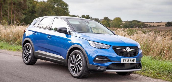 Front of Vauxhall Grandland X