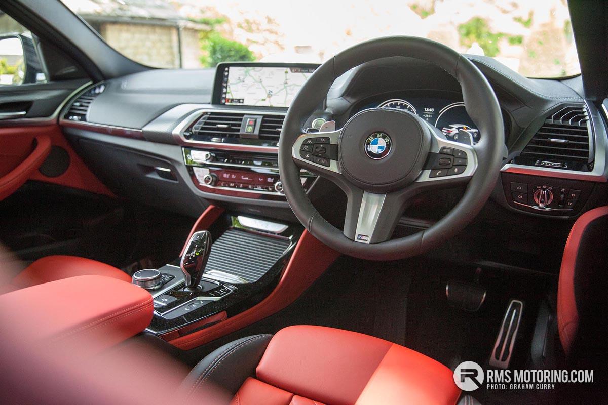BMW X4 Inside