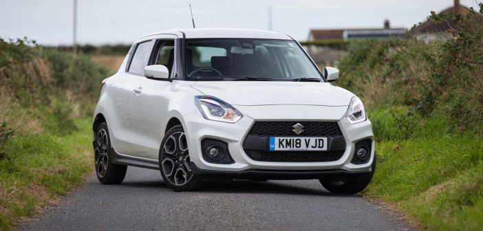 Front of Suzuki Swift Sport