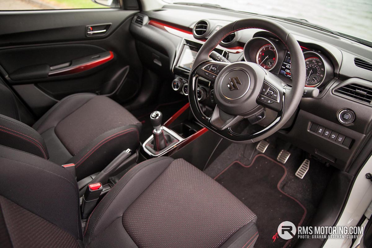 Suzuki Swift Sport Inside