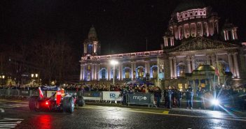Redbull F1 Showrun hits Belfast City Centre