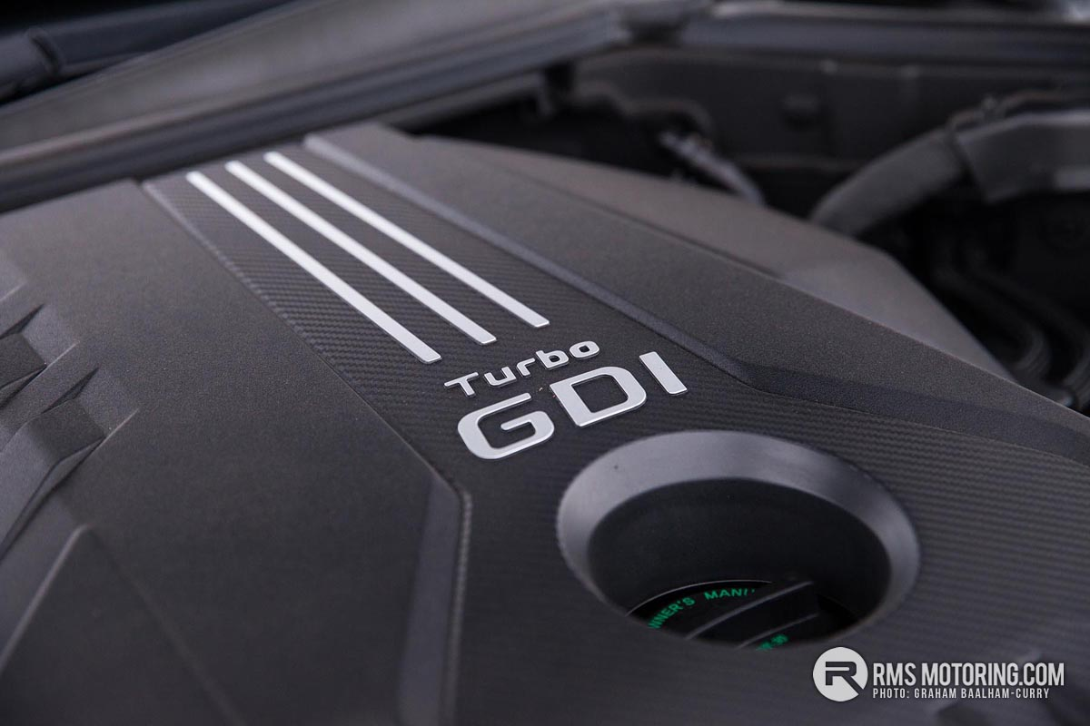 Kia Stinger Engine