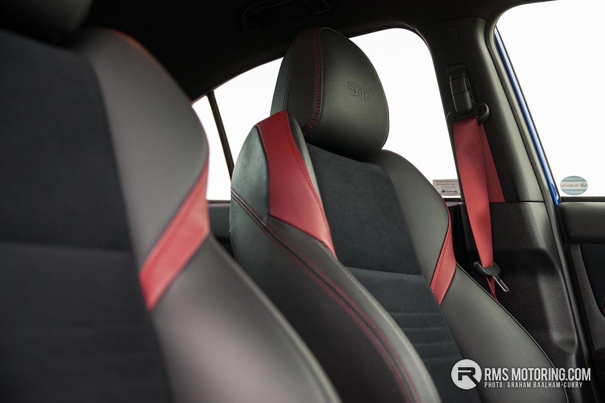 Subaru Impreza WRX STi FE Seats