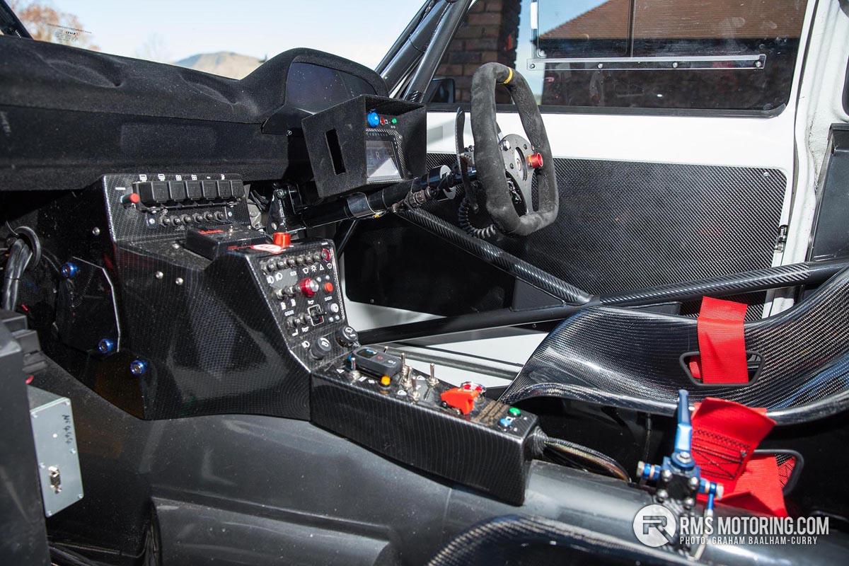 RSR Escort interior