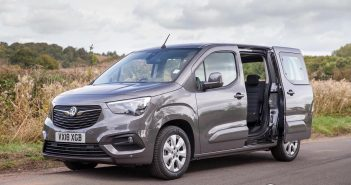 Front of Vauxhall Combo Life