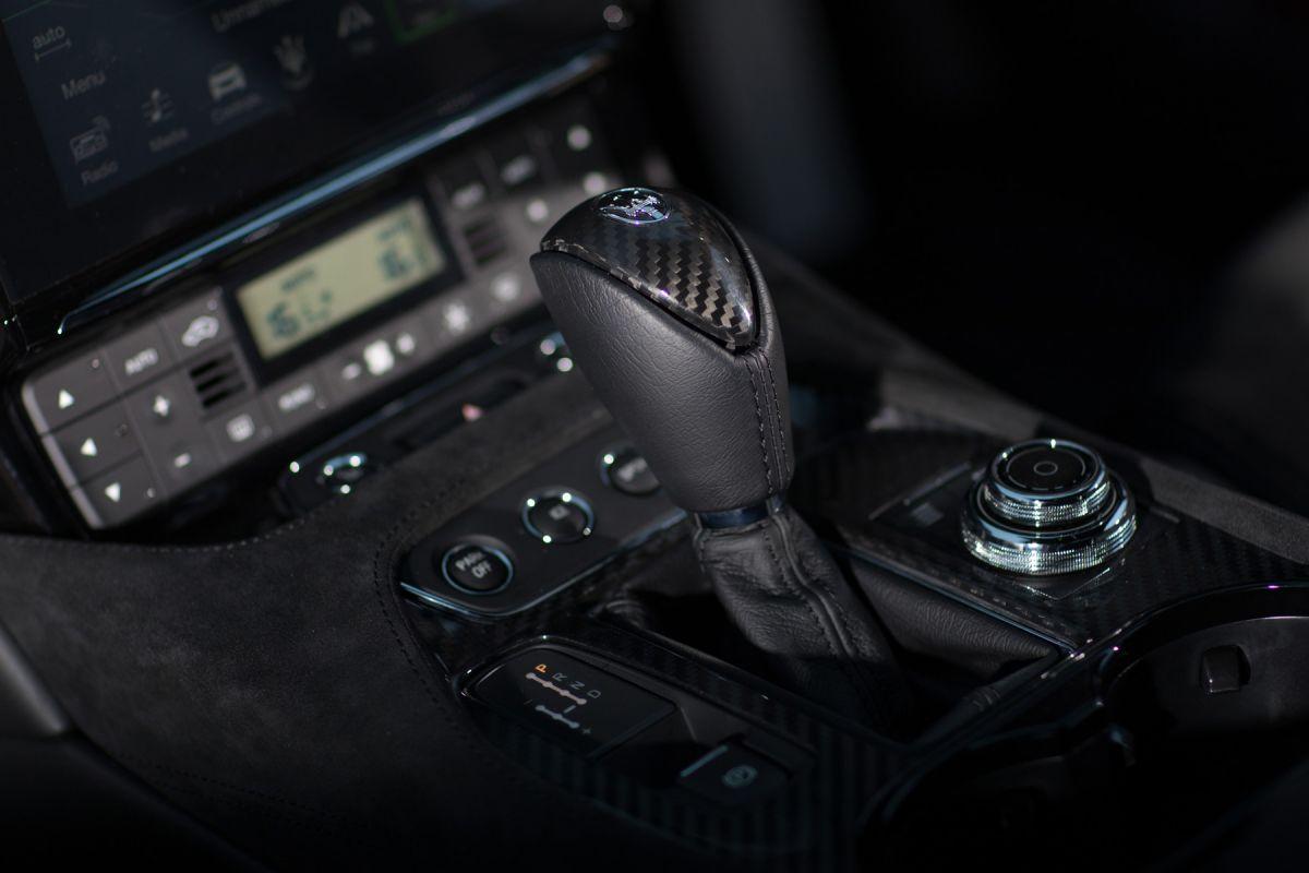 Maserati Grantourismo Gearstick