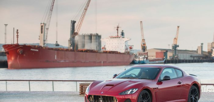 Front of Maserati Grantourismo