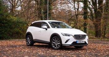 Front of Mazda CX-3